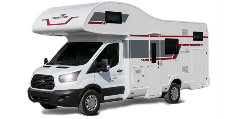 6-berth motorhome for hire